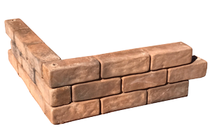 Tumbled Brick Bed